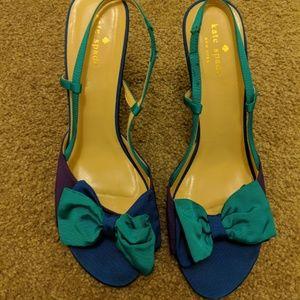 Kate Spade Stella Color Block Shoes Size 9